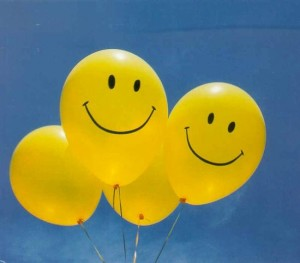 smiley-baloons